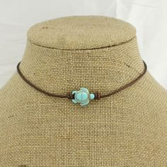 ETS-S1001-1 -- Aobei Pearl Handmade Pearl & Turquoise Choker Necklace for Women !