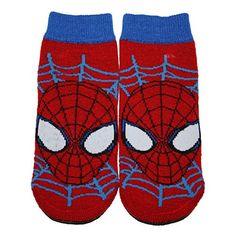 Kids Boys Spiderman Official Licensed Marvel Socks
