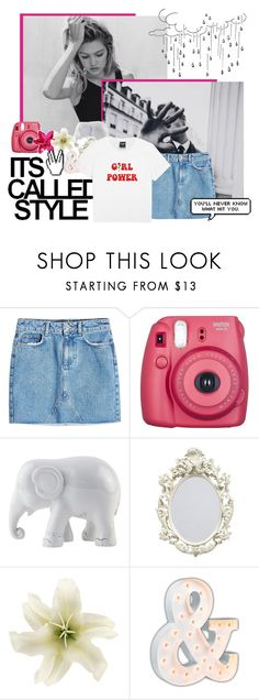 """""""new account @heath-tips"""" by purxpose ❤ liked on Polyvore featuring Anine Bing, Fujifilm, The Elephant Family and Vintage Marquee Lights"""