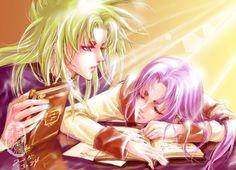 Saint Seiya - Shion & Mu
