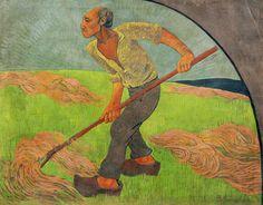Paul Sérusier, The Haymaker, Homage to Van Gogh, 1892