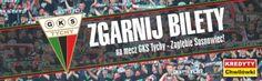 Konkurs! Zgarnij bilety na mecz GKS Tychy z Zagłębiem Sosnowiec!