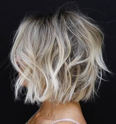 messy bob hairstyles, messy short hair, bob haircut, layered short hairstyles - MY World Bob Hairstyles For Fine Hair, Messy Hairstyles, Hairstyle Ideas, Party Hairstyle, Pixie Haircuts, Wedding Hairstyles, Fine Hair Bobs, Messy Bob Haircuts, Short Layered Hairstyles
