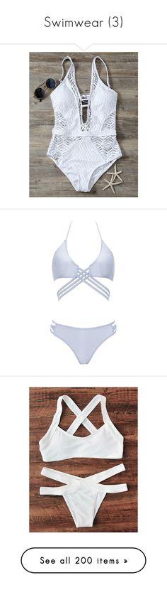 """""""Swimwear (3)"""" by enchantedrose33 ❤ liked on Polyvore featuring swimwear, one-piece swimsuits, cutout one-piece swimwear, one piece bathing suits, 1 piece swimsuit, lace swimsuit, cut-out swimsuits, bikinis, swimsuits and bikini"""