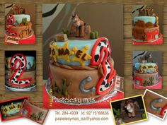 . Toy Story Cakes, Cupcakes, Fondant, Party, Desserts, Kids, Food, Pastries, Food Cakes