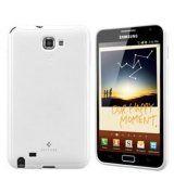 SPIGEN SGP Samsung GT-N7000 Galaxy Note Gel TPU Case Ultra Capsule Unlocked (International) Version ONLY [Infinity White] (FREE Best Steinheil Screen Protector Cover Film Included)