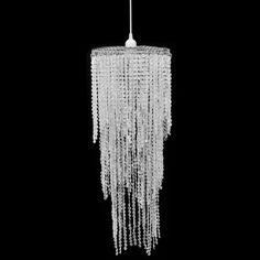 Hängelampe Kronleuchter Kristall Lampe Hängeleuchte Deckenleuchte 26 x 70 cm #sparen25.com , sparen25.de , sparen25.info
