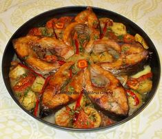 Romanian Food, Food Decoration, Ratatouille, Fish Recipes, Paella, Food To Make, Shrimp, Seafood, Food And Drink
