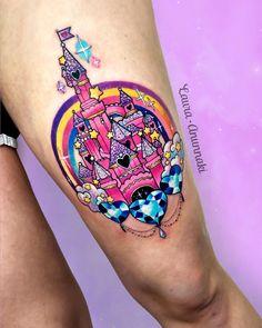 Girly Tattoos, Badass Tattoos, Cute Tattoos, Beautiful Tattoos, Body Art Tattoos, Tatoos, Kawaii Tattoos, Random Tattoos, Disney Sleeve Tattoos