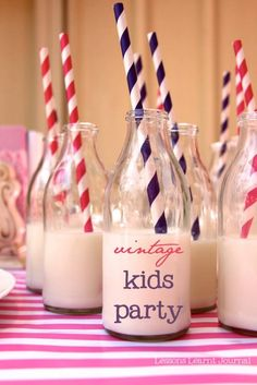 Charming vintage inspired kids birthday party, such a fun theme to decorate and dress up for.