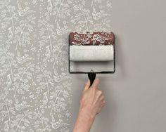 Strukturtapete Streichen die 33 besten bilder von tapezieren in 2019 | bricolage, bedrooms