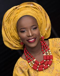 Beautiful bridal inspiration  #morningpost #bridal #beads  Jewelry by @abellejewelryng contact for jewelry work.  Makeup and gele @lumieremakeuparts Aso-oke @doppybridals_asooke_beads Muse @theawesometaylor Styled by @sayo_milla of @abellejewelryng Photography @lumieremakeuparts  #gidiweddingsng #abellejewelryng #jewelry #makeup #gele #beads #asooke