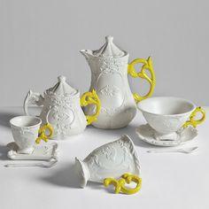 Seletti - I-Wares Porcelain Teapot - Yellow