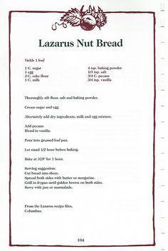 Lazarus Nut Bread | by theprimitivemoose
