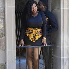 Collins & Sheeky ~African fashion, Ankara, kitenge, African women dresses, African prints, African men's fashion, Nigerian style, Ghanaian fashion ~DKK