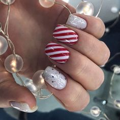 New Year 2020 manicure with New Year theme. 30 photos New Year 2020 manicure with New Year theme. Nail Care Tips, Some Ideas, Nail Inspo, Winter Nails, Christmas Nails, Acrylic Nails, Nail Designs, Nail Polish, Blog