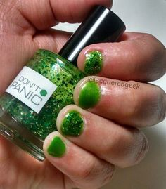 Index & Ring: Nerd Lacquer - Don't Panic Middle & Pinkie: Cult Nails - Deal With It