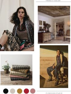 SOURCE: Missoni and Tory Burch - Resort textiles handwoven by Imogen Di Sapia and Pamela Pierce designed living room. Valentino Resort, Fashion Prints, Fashion Design, Mellow Yellow, All About Fashion, Color Trends, Looking For Women, Vignettes, Looks Great