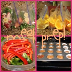 Basic Sunday Meal Prep --keep your healthy eating in check by prepping for the week ahead! #prepday