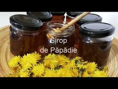 Sirop de Papadie- Miere de papadie- Beneficii pentru organism - YouTube Recipes, Youtube, Jelly, Preserves, Rezepte, Ripped Recipes, Recipe, Youtubers, Recipies