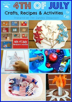 4th of July Crafts, Recipes and Play Ideas {The Sunday Showcase 6/29/13}  - Pinned by @PediaStaff – Please Visit  ht.ly/63sNt for all our pediatric therapy pins