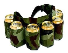 Redneck 6 Pack Beer Soda Can Holster Belt - Camo - Look Ma, no hands! Having The Beer Belt ensures that you'll never be out of reach of your next cool one! Holds six 12 o - ruggedtimes Gag Gifts, Funny Gifts, Beer Gifts, Ideas Día Del Padre, Redneck Party, Redneck Games, Redneck Crafts, 6 Packs, The Life
