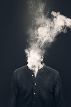Smoked head.
