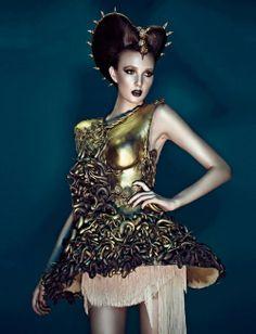 AVANT GARDE HAUTE COUTURE   An Avant Garde collection by I. Couture. ~ Haute couture, fashion and ...