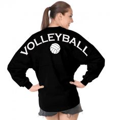 The official Spirit Jersey®; Shop select Spirit Jersey & Spirit Clothing Co. Cute Teen Outfits, Sporty Outfits, Outfits For Teens, Sporty Clothes, Spirit Jersey, Spirit Clothing, Clothing Co, Volleyball Sweatshirts, Volleyball Quotes