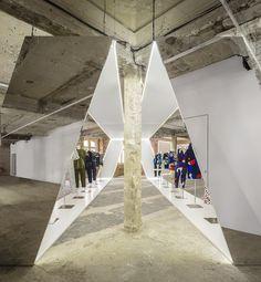 Felipe Oliveira Baptista Exhibition.8   http://www.pinterest.com/AnkAdesign/installations-backwalls/