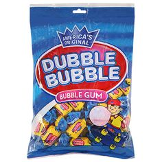The classic bubble gum taste you grew up with! gum is individually wrapped, making them perfect for candy dishes, prize boxes or giveaways. Also good for resale in candy stores, con Skippy Peanut Butter, Prize Box, Construction For Kids, Dumpster Diving, Sour Candy, Baby Alive, Favorite Candy, Candy Bags, Ben And Jerrys Ice Cream