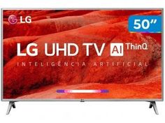 "Smart TV 4K LED 50"" LG 50UM7510PSB Wi-Fi HDR - Inteligência Artificial 4 HDMI 2 USB - Magazine Mandinha Wi Fi, Usb, Tv Led 50, Smart Tv 4k, Hd Samsung, Bluetooth, Lg Tvs, Operating System, Apollo"