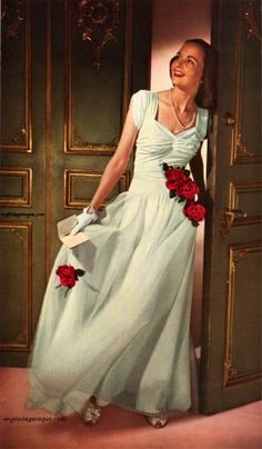Glamour Magazine December 1943, Photo by John Rawlings