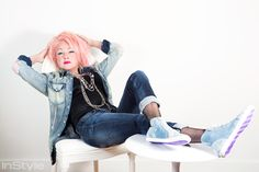 Cyndi Lauper is parlaying her LGBT support into a shoe collection with Make a Difference Everyday. 80s Fashion Party, 80s Costume, Costume Ideas, Thompson Twins, Lgbt Youth, Paul Young, Four Tops, Lgbt Rights, Cyndi Lauper