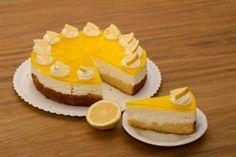 Vybrali sme zákusky, koláče a torty so želé aj želatínou - Žena SME Dessert Recipes, Desserts, Cheesecake, Calamari, Hampers, Lemon, Tailgate Desserts, Deserts, Cheesecakes