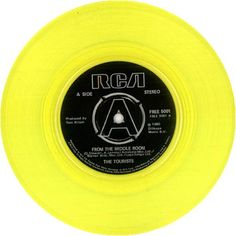 "For Sale - The Tourists From The Middle Room - Yellow Vinyl UK Promo  7"" vinyl single (7 inch record) - See this and 250,000 other rare & vintage vinyl records, singles, LPs & CDs at http://eil.com"