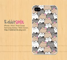 Lttile Cat iPhone 5 Case, iPhone 4 case, Because Cats iPhone 4s Cover , Hard Plastic iphone 5 Cover, cases on Etsy, $15.00