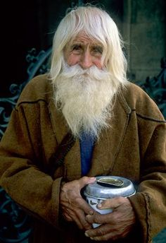 Barney Barnwell | Sweet Dobri Dobrev. Known by locals as Grandpa Dobri,Saint Dobri,and the 'Divine stranger.' :0) city of Sofia Bulgaria. He walk to Sofia daily to beg for money,giving ALL to churches and orphanages. ~ Bless this man