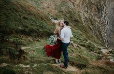 Lulworth Cove Intimate Wedding Shoot #wedding #intimate #photography #jenmarinophotography #bohemian #lulworthcove