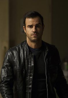 eda5aac145 Leather jacket reference  Cafe racer style on Justin Theroux as Kevin Garvey  on The Leftovers