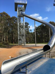 Super slide at Manjimup Timber Park Holidays With Kids, Western Australia, Forests, Denmark, Natural Beauty, Places To Go, Southern, River, Park