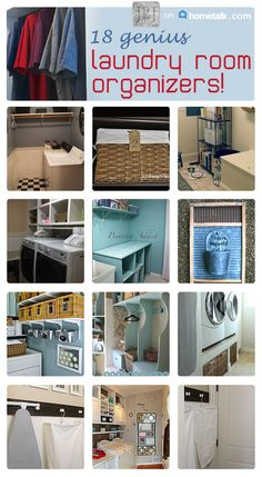 These will keep your laundry room neat and organized!