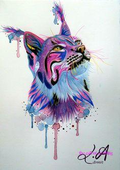 dessin, peinture, artiste peintre, art http://mycreativeside.fr/lorine-angelmann-dessinatrice/