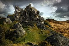 """The lands around Winterfell // """"The rest of the dragon"""" by Yann Deguen"""
