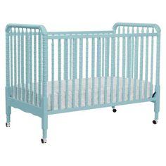 Million Dollar Baby Jenny Lind Crib - Lagoon