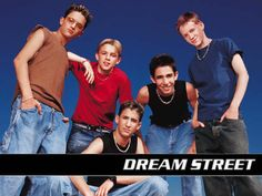 I was obsessed with Dream Street as pre-teen/teenager! Chris Trousdale (far left) & Jesse McCartney (in red) were my favorites!