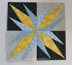 Lately I've been trying to catch up on things I neglected in the last 2 months. One of them is the Lucky Stars Block of the month with Don'. Star Blocks, Quilt Blocks, Block Of The Month, Lucky Star, Quilt Patterns, Projects To Try, Bee, Quilting, Iron