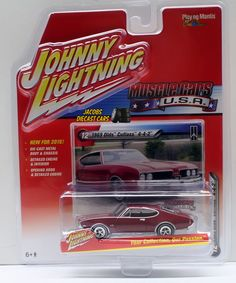 1:64 2016 JOHNNY LIGHTNING MUSCLE CARS U.S.A. SERIES 2A - 1969 OLDS CUTLASS 442 #JohnnyLightning #Oldsmobile