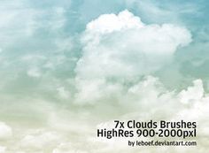 Cloud Photoshop Brushes (making soft skies at the seibelgroup.com with photoshop)