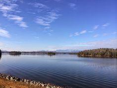 Lake James in December - Beautiful Lake Home for Sale on Lake James in Morganton NC